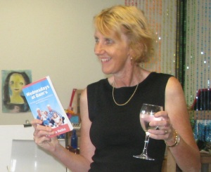 Kathy launching book